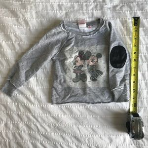 Disney Mickey and Minnie Mouse Toddler sweatshirt